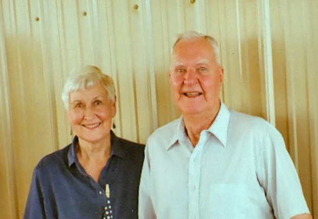 Julie and Earl Halverson