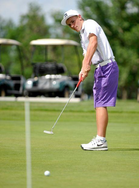 Golfer Joey Moore
