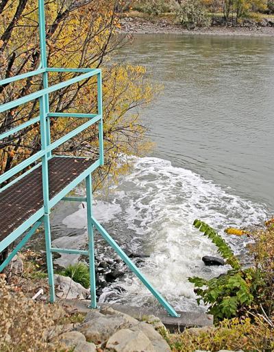 Billings waste water treatment water return