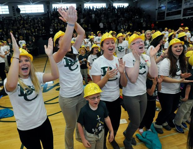 Billings Central High School students don hard hats