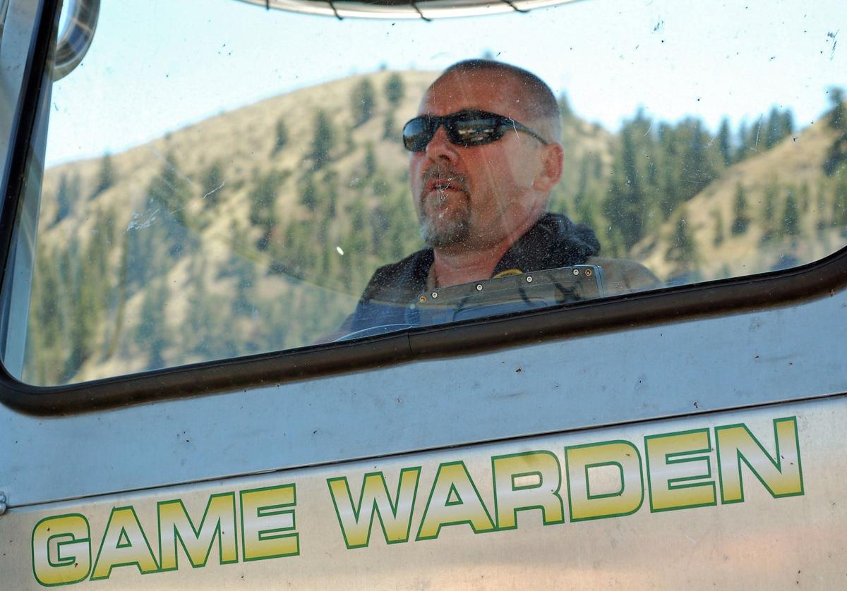 Helena-based game warden Sgt. Dave Loewen