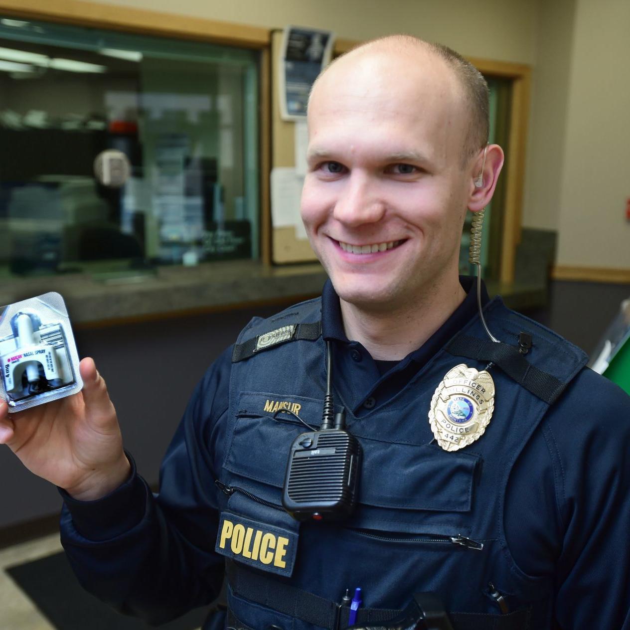 Billings police officers now using overdose reversal drug as