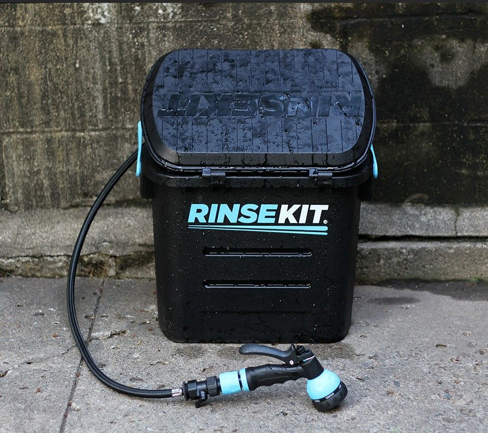 Gear junkie: Portable shower box offers off-grid cleanup | Outdoors ...