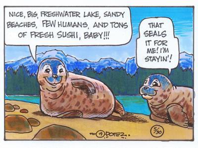 Seal humor