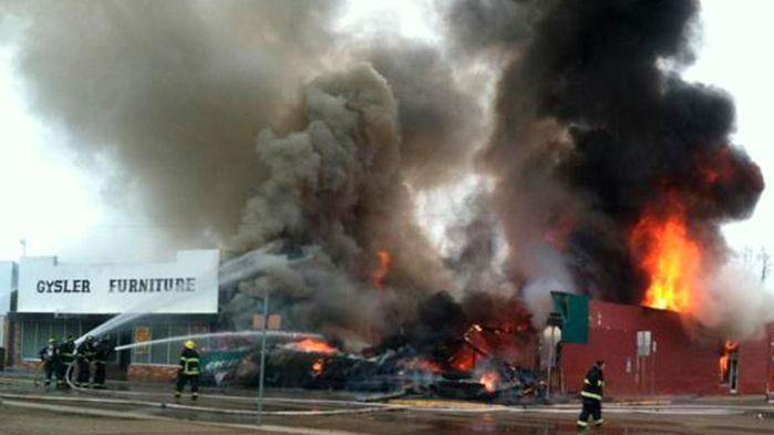 Gysler Furniture Burns In Wolf Point Montana News