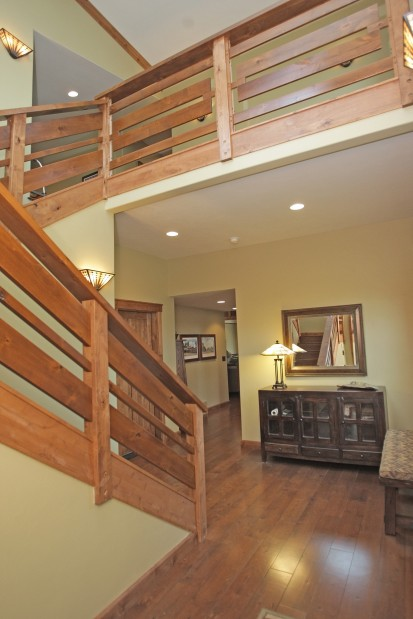 Entry stairs at Keily Builders 21F Kainu Ave.