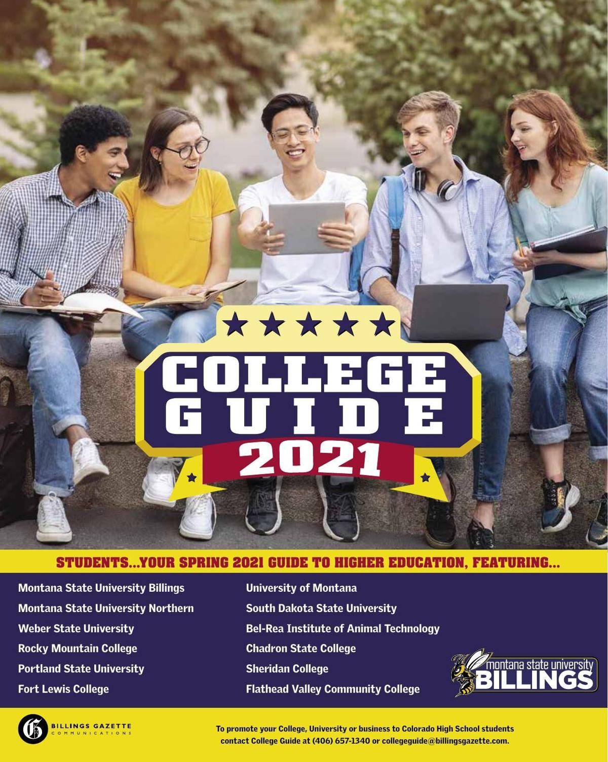 College Guide for Colorado students - Spring 2021