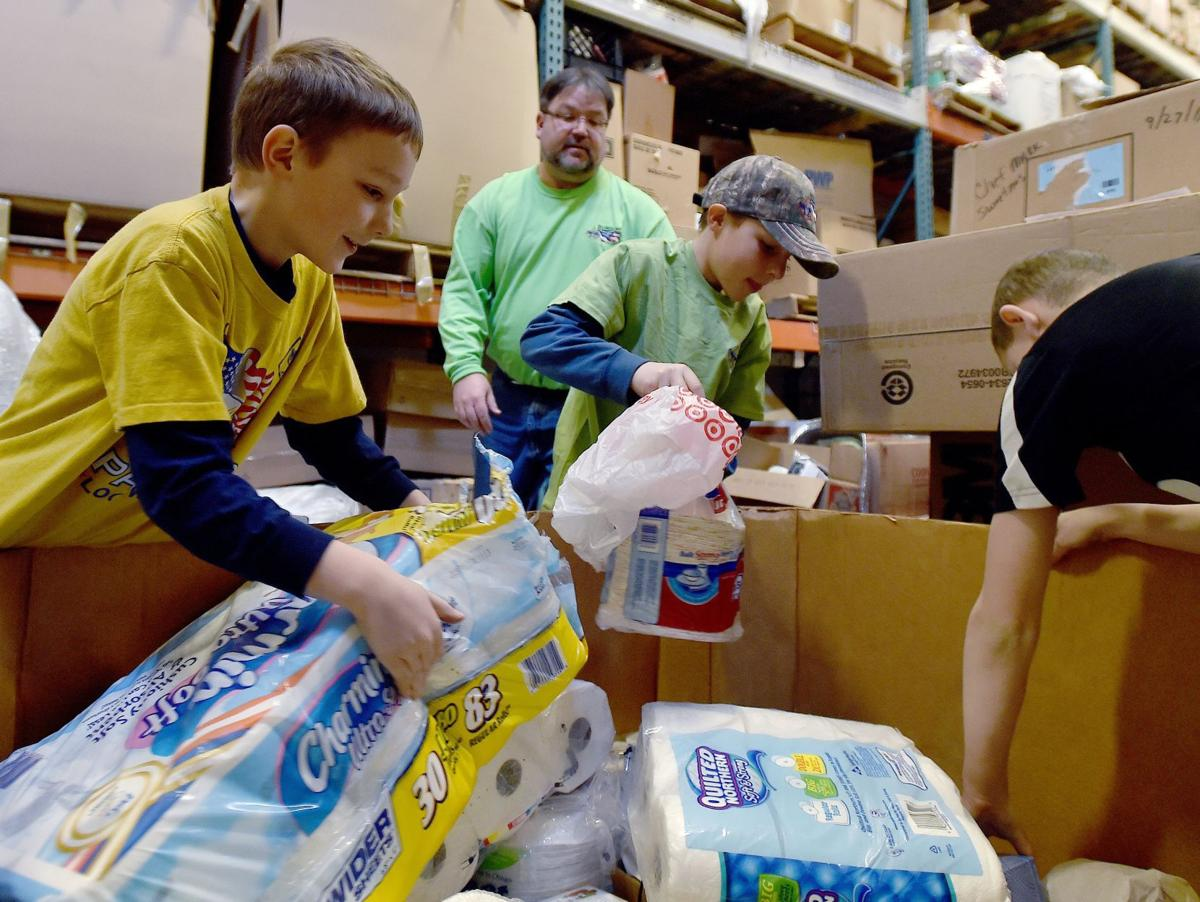 Scouts Collect Canned Food For Billings Food Bank
