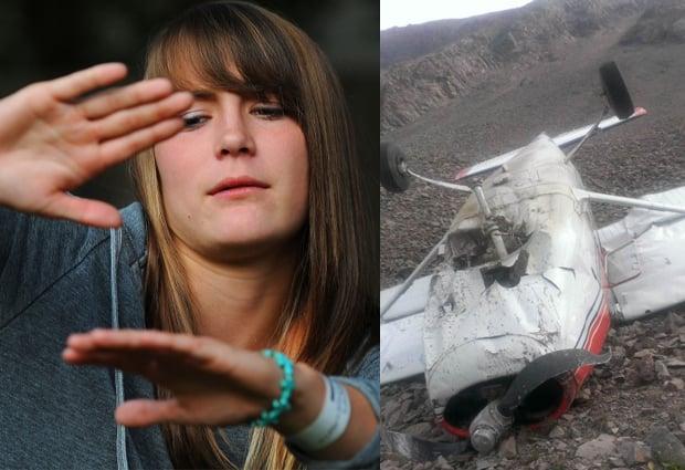 Student pilot McKenzie Morgan