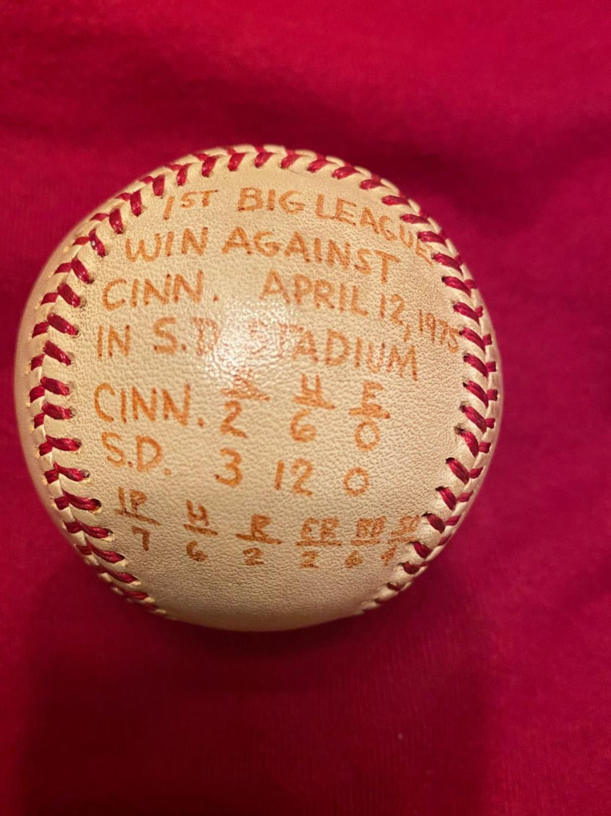 Joe McIntosh first-win baseball
