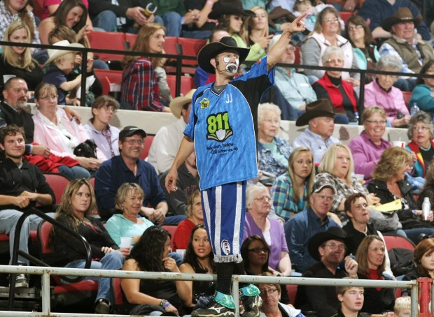 Harrison Gets The Call Chosen For Nfr Barrel Man Rodeo