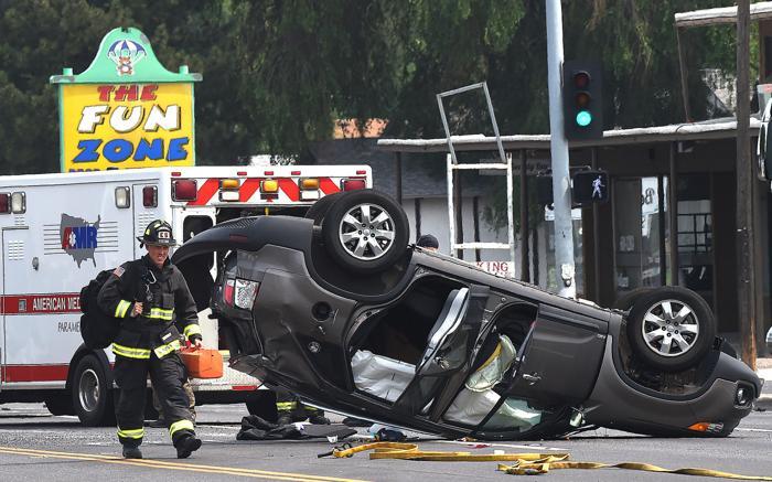 Photo: Crash on Central Avenue