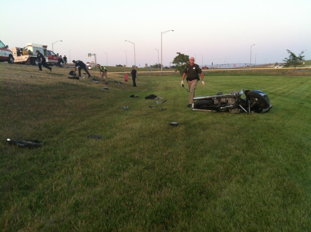 motorcycle accident on i 90 on ramp sends one to hospital billings news. Black Bedroom Furniture Sets. Home Design Ideas