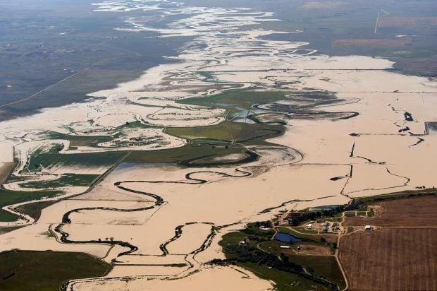 Hi-Line hit with severe flooding | Montana News ...