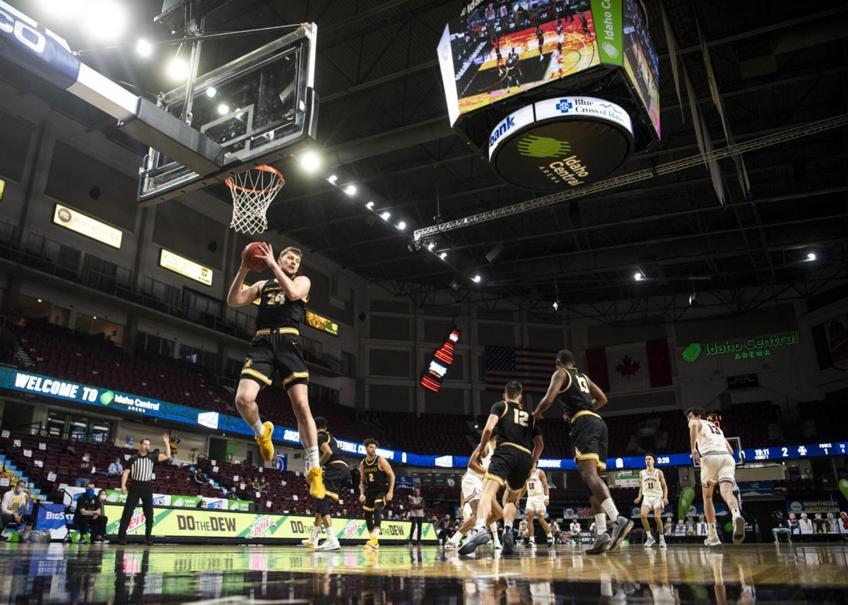 Big Sky Conference tournament- Griz vs. Idaho 40