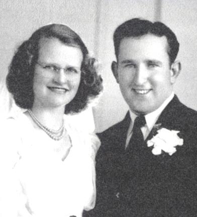 Dorothy and Leonard Ecker in 1946