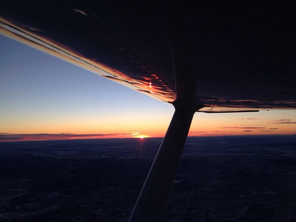 Eastern Montana sunrise