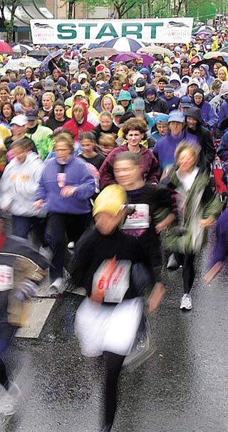 5,109 women in annual run