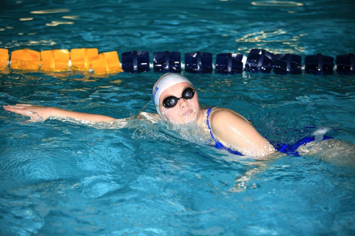 Billings Senior Sweeps Team Titles At Bps Swim Meet Sports