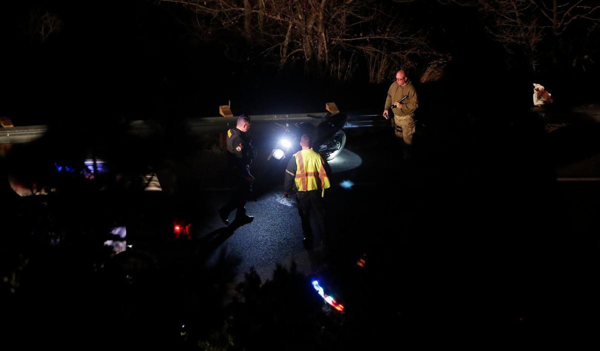 Fatal motorcycle crash on Zimmerman Trail