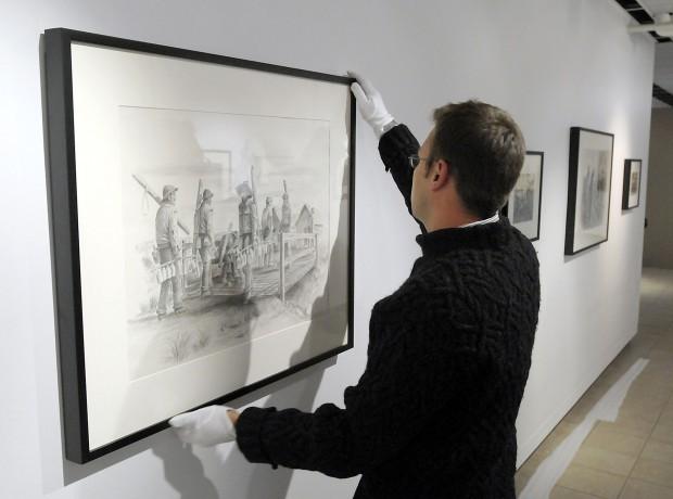 """""""War Torn: The Art of Ben Steele"""""""