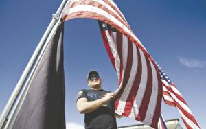 Flag cruises show support for military, first responders