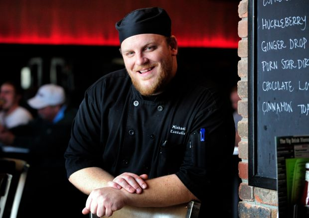 Michael Vaith, chef at the Vig Ale House