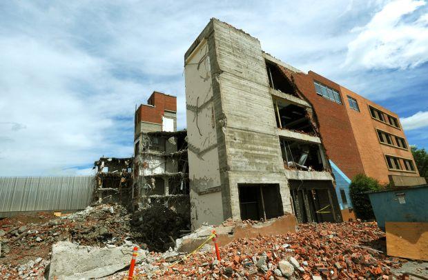 Library demolition
