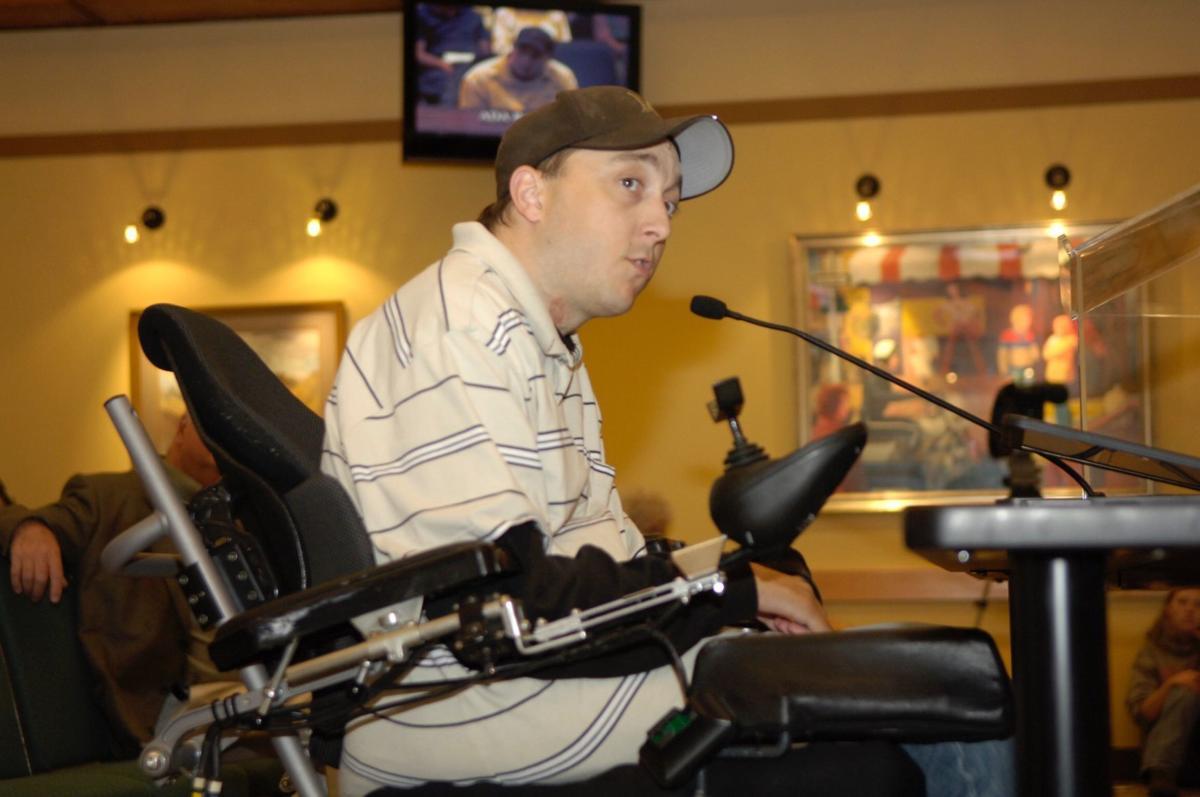 Travis Hoffman, Summit Independent Living advocacy director
