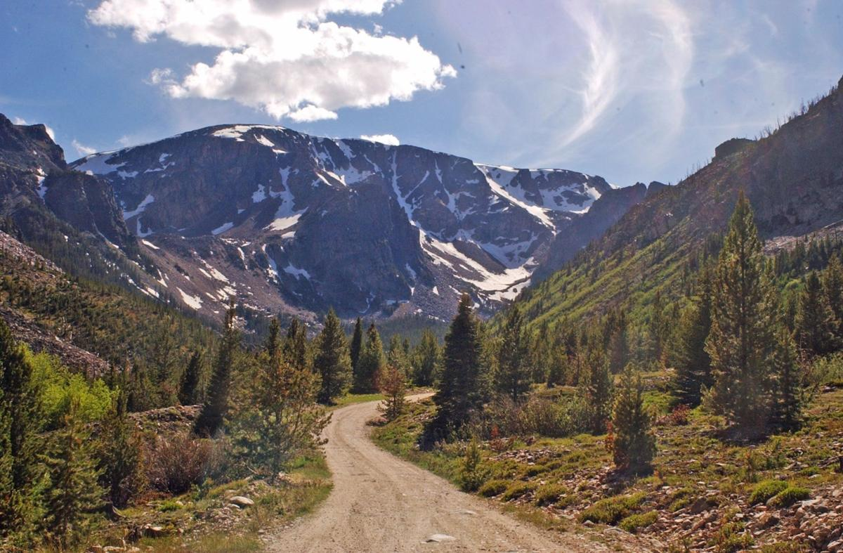 Road to Glacier Lake
