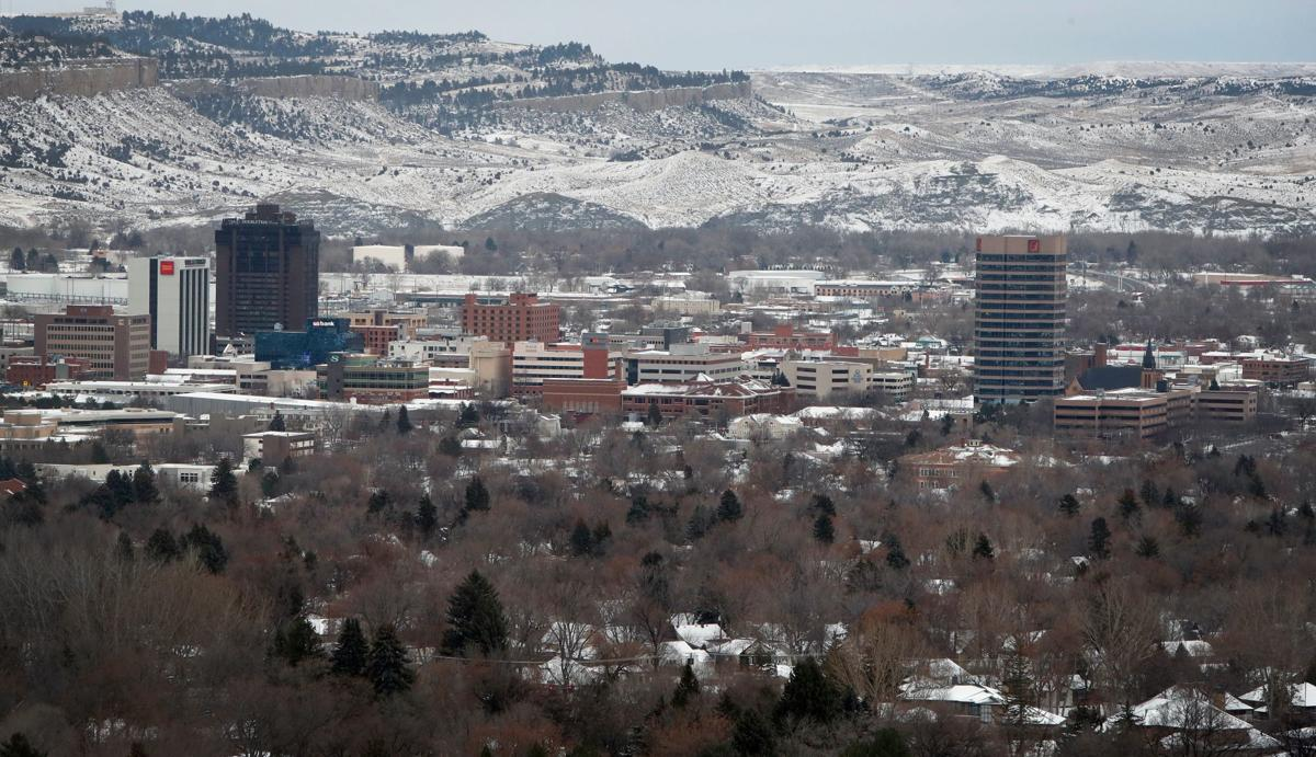 Billings winter skyline