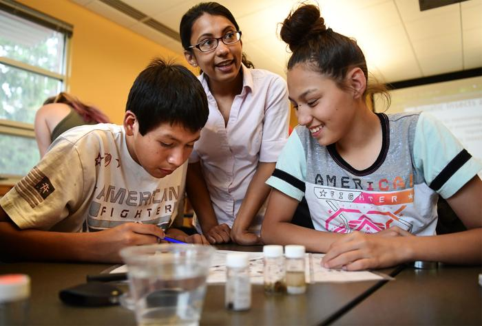 UM launches STEM camp for Native American students