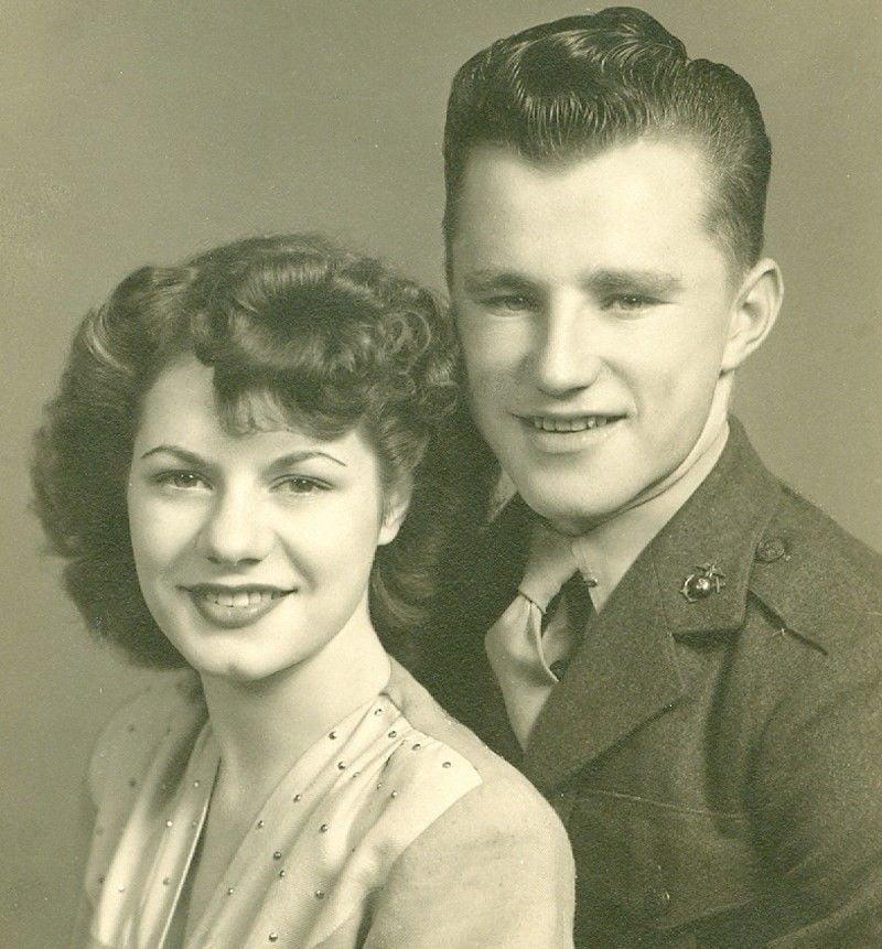 Delores and Robert Gerber in 1946