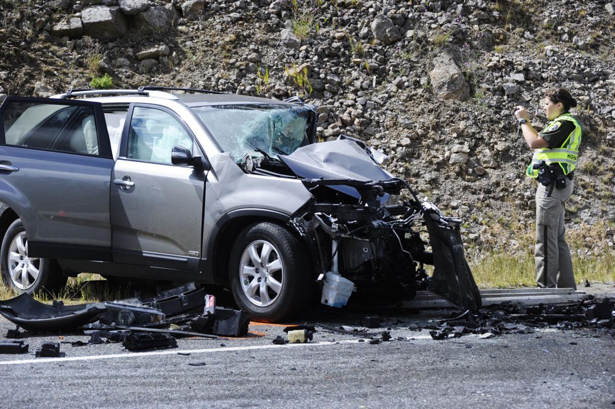 Head-on crash west of Avon