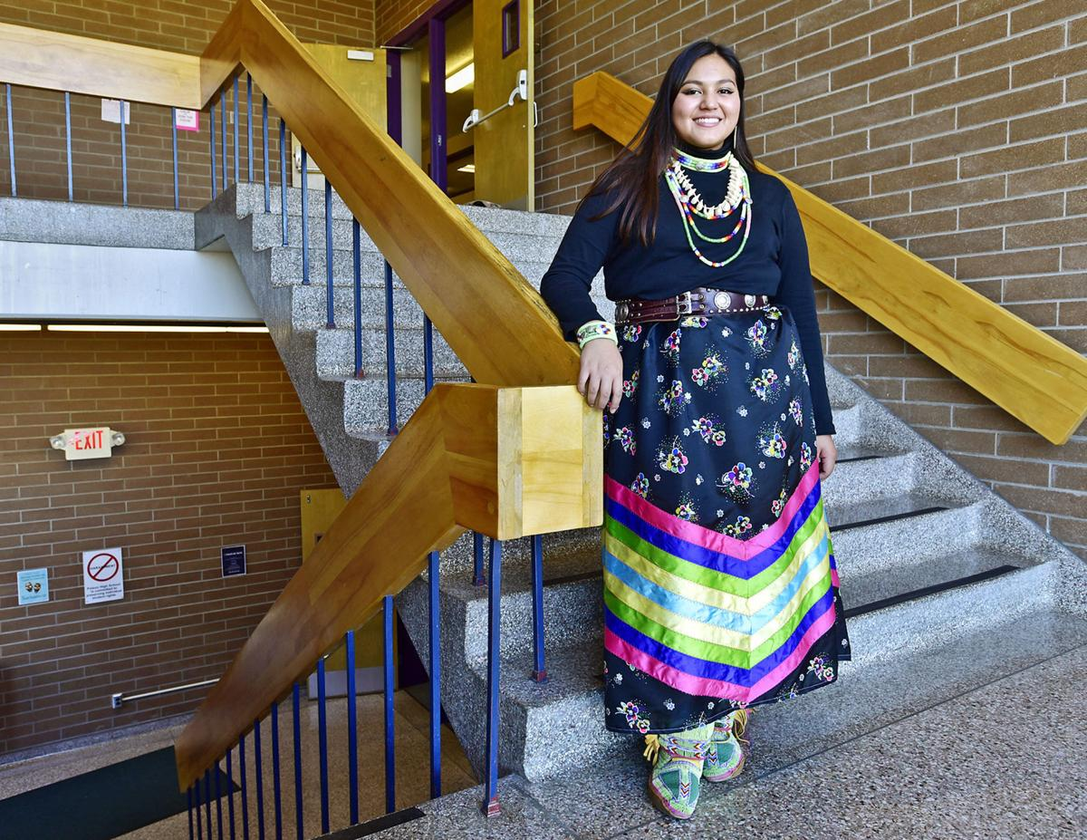 6bdd04e65f Polson senior dresses to honor missing and murdered Indigenous women ...