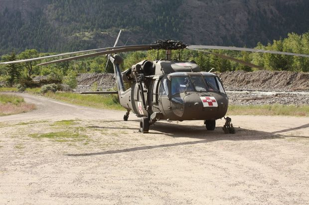 Black Hawk rescue