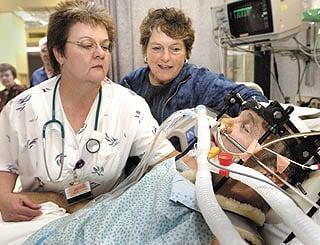ICU ward has high demands, rewards