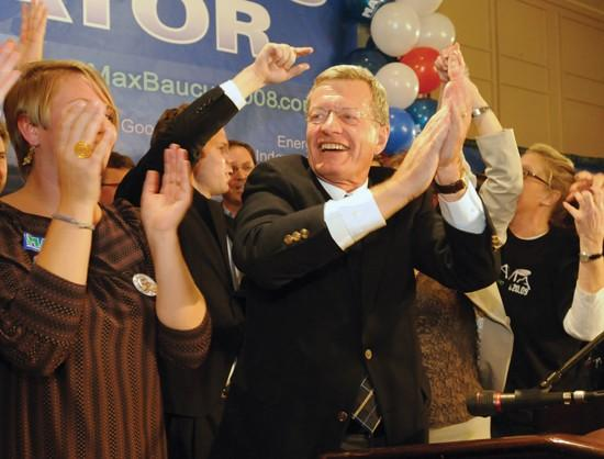 Voters send Baucus back to Senate