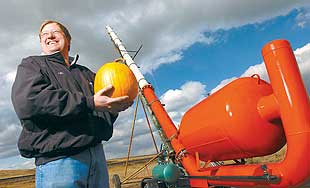 Pumpkin launchers ready for action at Acton