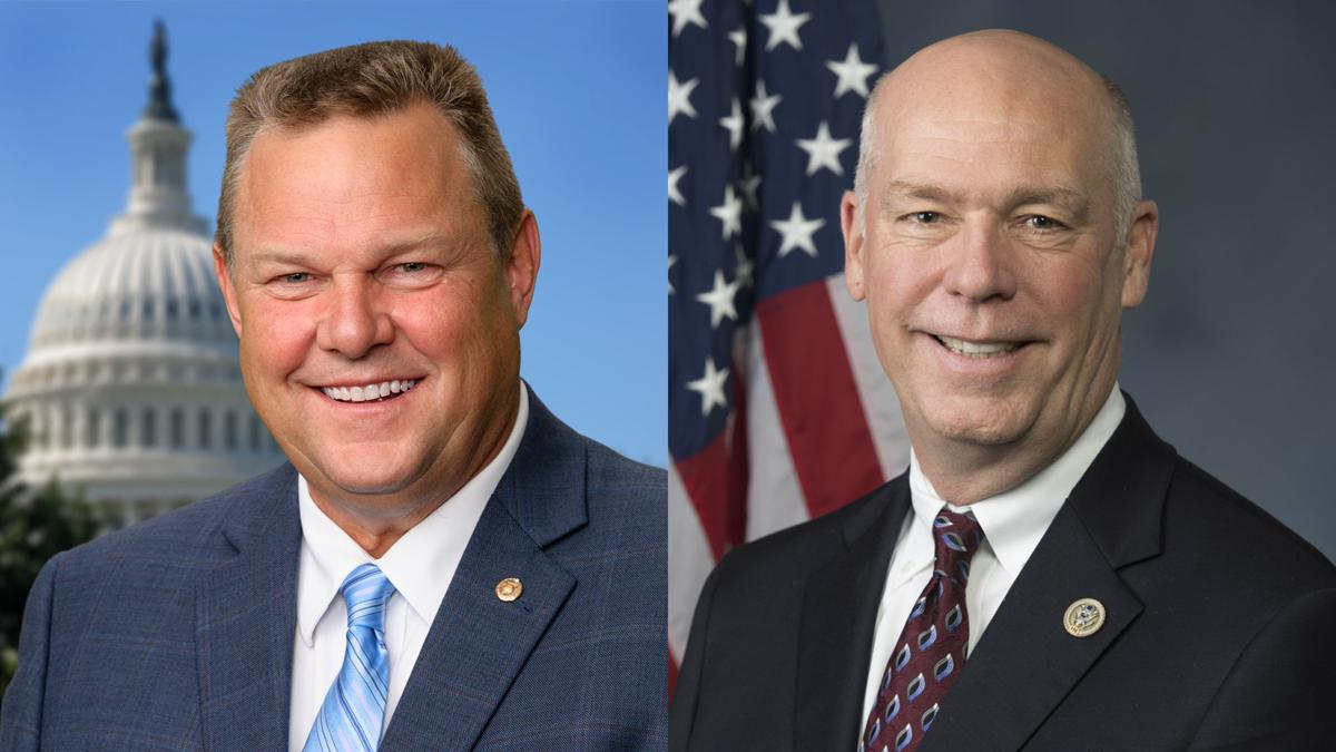 Sen. Jon Tester and Rep. Greg Gianforte