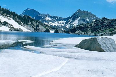 Teton high lake