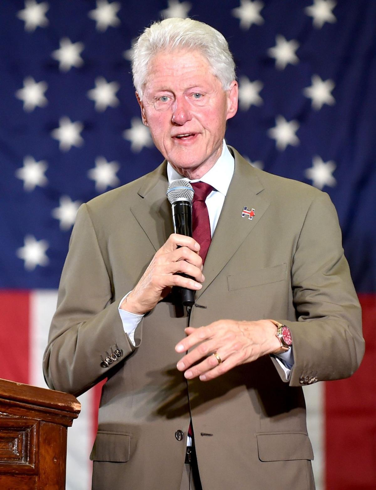 Bill Clinton to Billings Hillary will build bridges while Trump