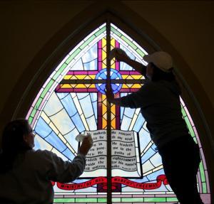 LDS volunteers lend a hand around Billings Saturday