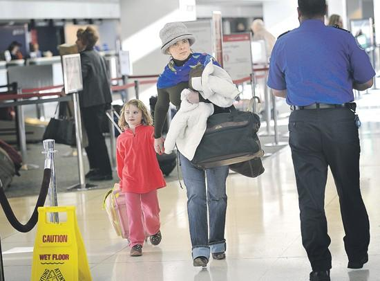 Airport changes aimed at making lines move faster