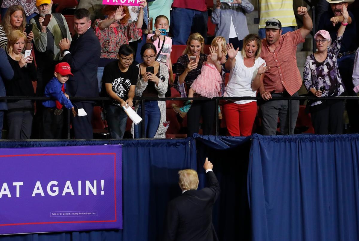 President Trump visits Billings
