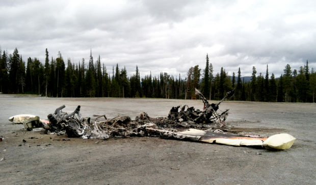 Lost Trail plane crash