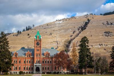 University Hall at the University of Montana