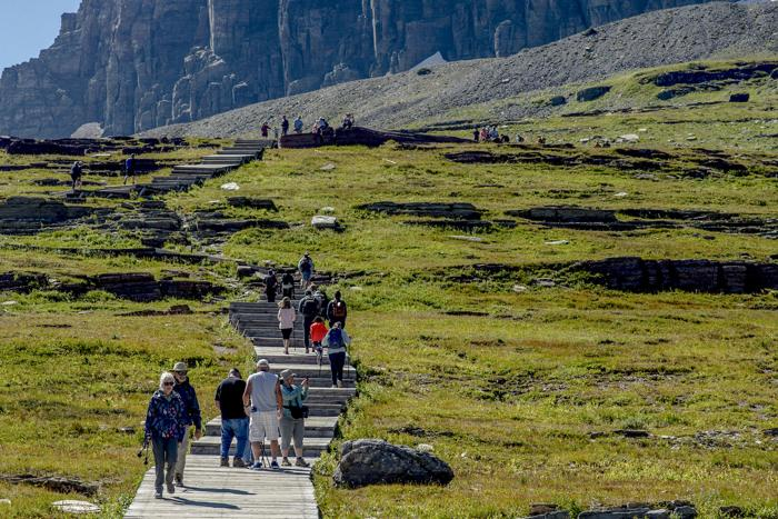 Glacier National Park visitation increases with busy August