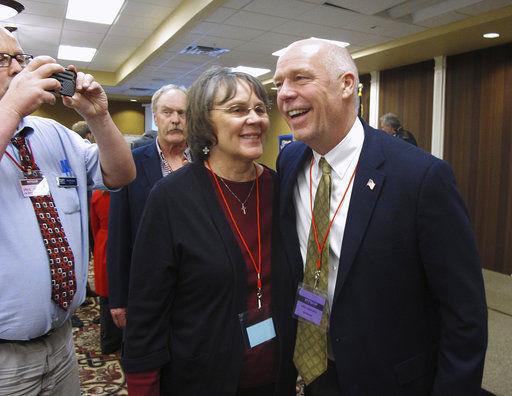 The Latest: Democrats launch ads on Montana body-slam