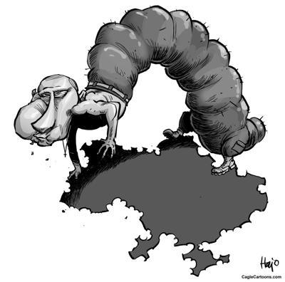 Putin devours Ukraine